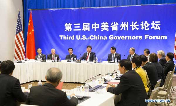 3rd governors forum with china