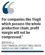 Yingli scales up its output