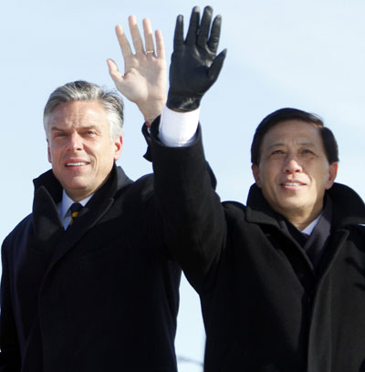President Hu's trip in Chicago