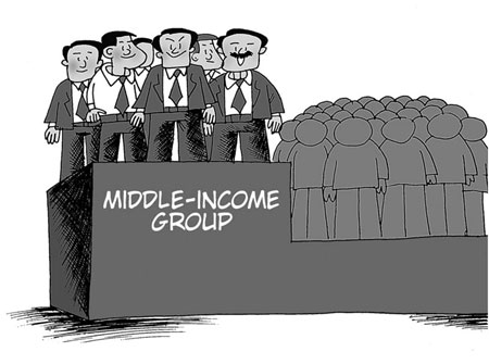 Middle income group grows