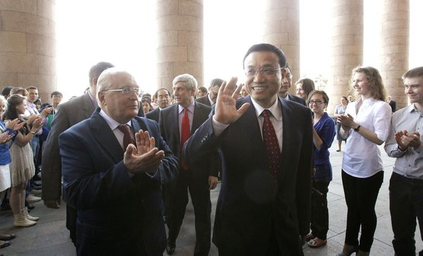 Li urges greater Sino-Russian tie-ins