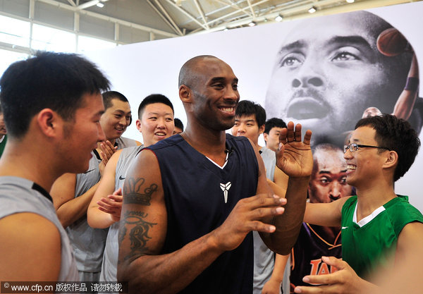NBA stars fuel basketball mania in China