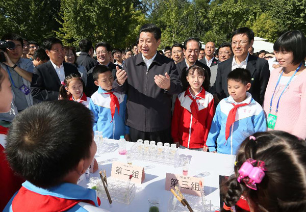 Xi calls for public food and health awareness