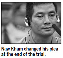 Mekong River suspect pleads guilty