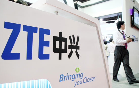 ZTE shares dive on Q3 warning