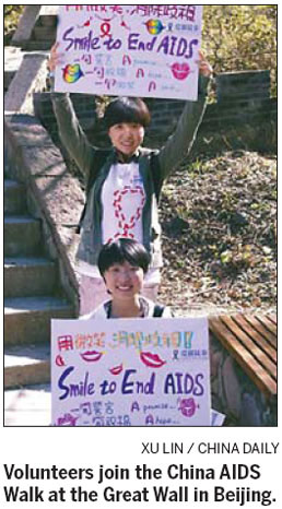 Taking long steps to combat HIV/AIDS