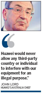China's Huawei blasts US 'protectionism'