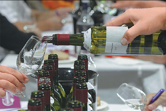 Bottoms up! A healthy wine market