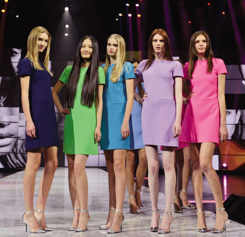 Chinese models in spotlight