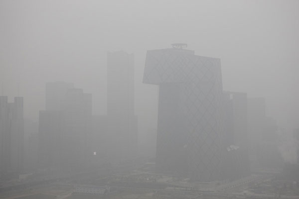 Beijing air pollution reaches dangerous levels