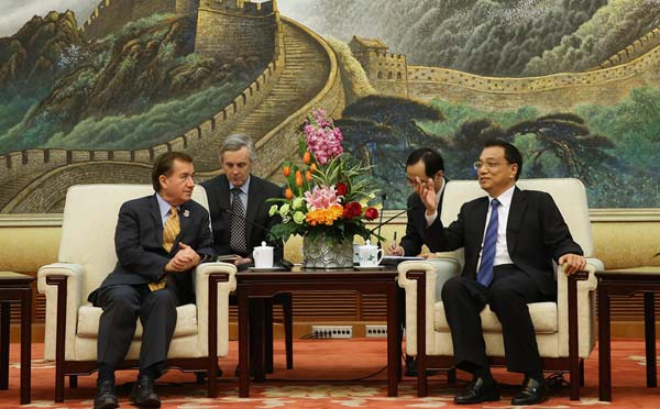Li urges more mutual trust with US