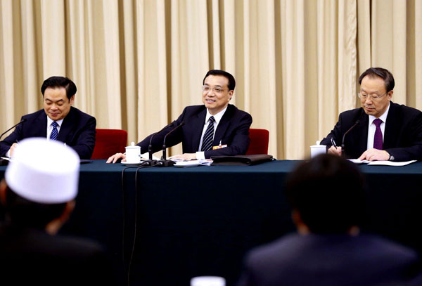 Top leaders join panel discussion with lawmakers