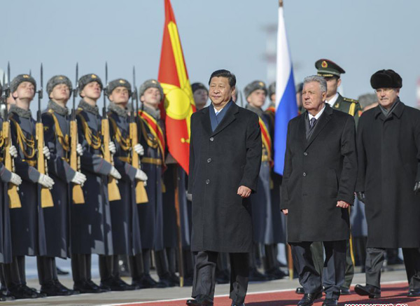 Chinese president arrives in Moscow for visit