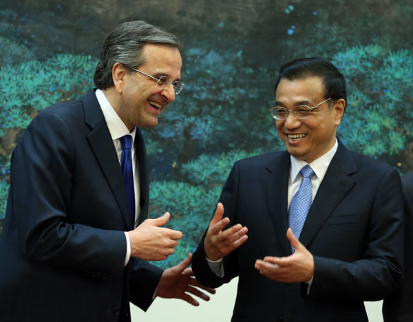 Doubled Greece-China trade by 2015, Li predicts