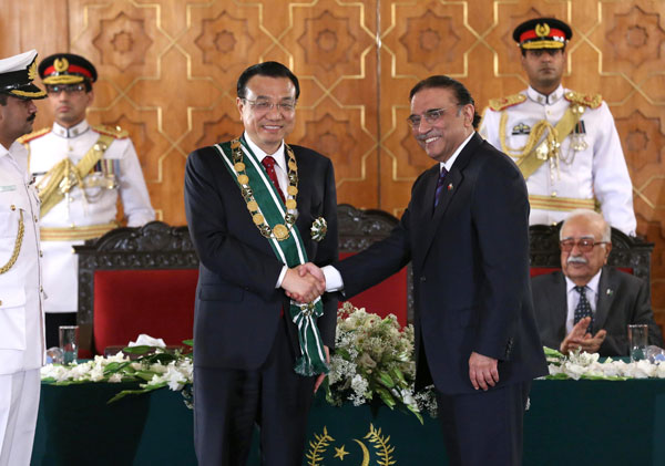 China, Pakistan to bolster ties