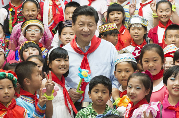 Xi vows better protection of children