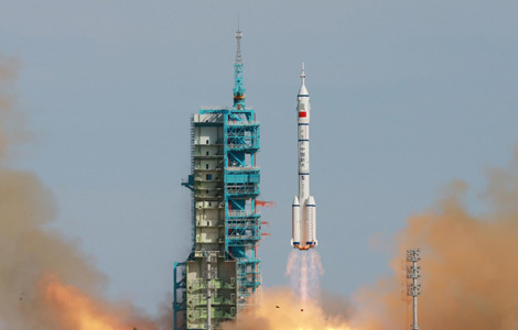 China successfully sends first space teacher into orbit