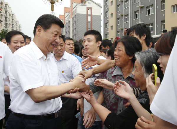 Xi urges CPC members to keep China red