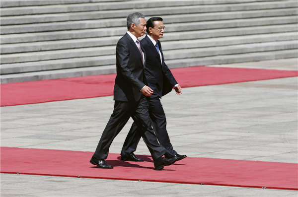 Singapore PM starts official visit to China