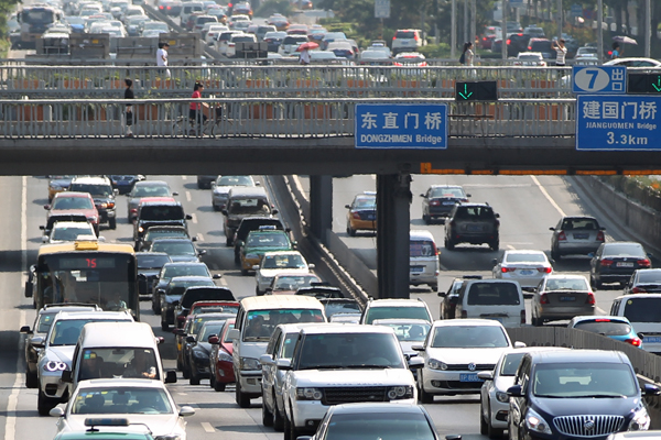 Beijing prepares for September gridlock
