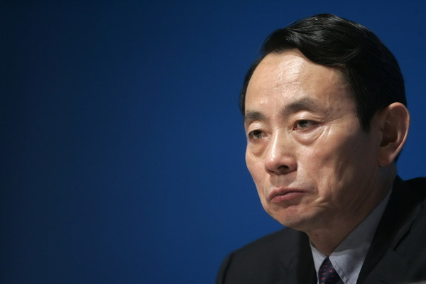 Jiang Jiemin removed from office: authority