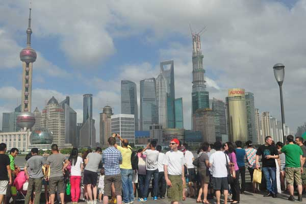 Shanghai's visa-free policy lifts tourism