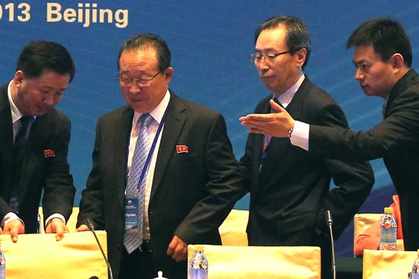 Restart Six-Party Talks, says Wang