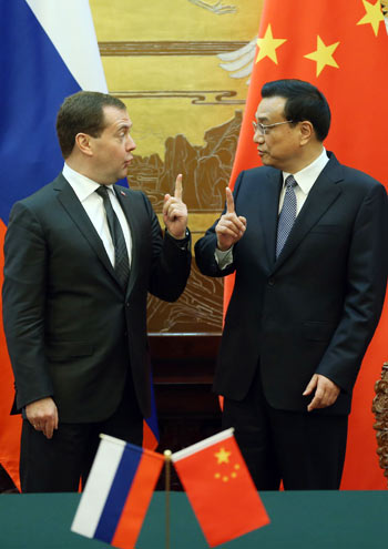 China, Russia reach big oil deal