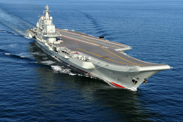 Carrier embarks on mission to South China Sea