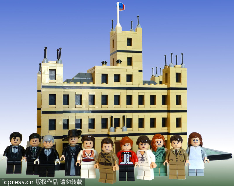 The Lego version of Downton Abbey