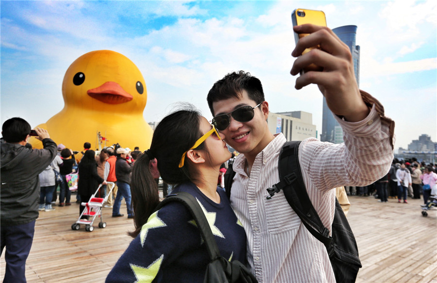 The duck returns in Taiwan