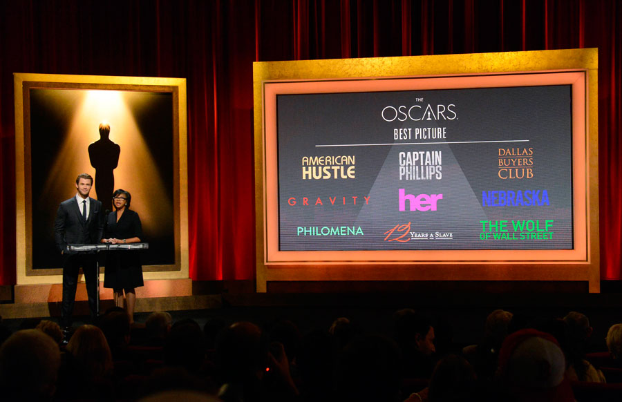 'American Hustle,' 'Gravity' lead Oscar nominations