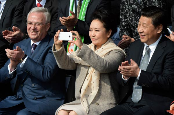 'First lady effect' a possible boon for ZTE