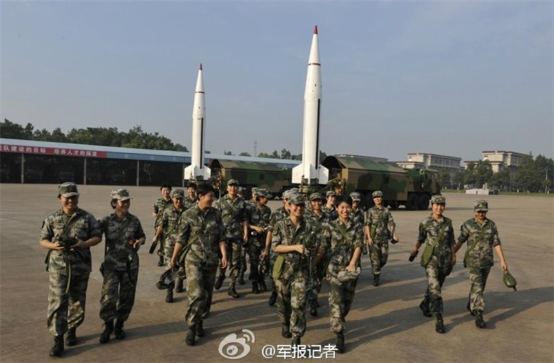 Women's missile unit joins China's army