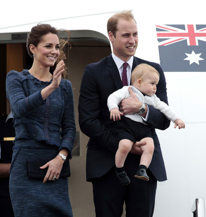 British royal family's last day in NZ