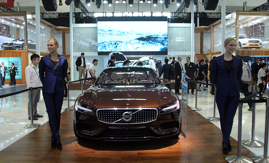 In photos: cars dazzle at Beijing Auto Show