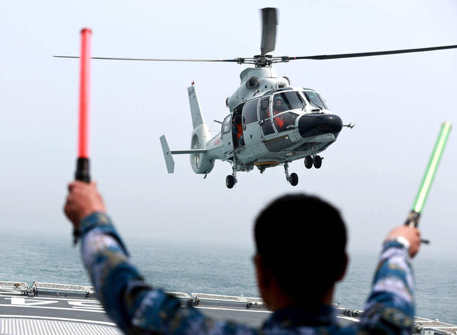 Multilateral drill marks navy's 65th birthday