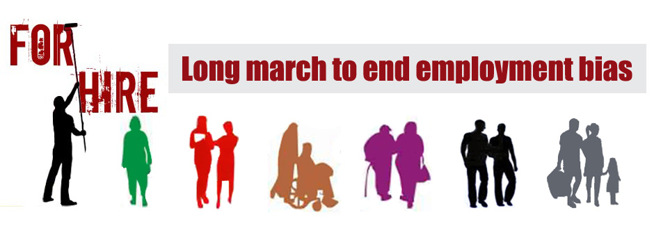 Long march to end employment bias
