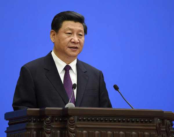 Chinese president stresses sovereign equality