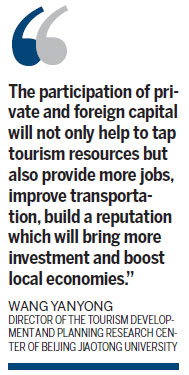 Private, foreign investment to aid tourism industry