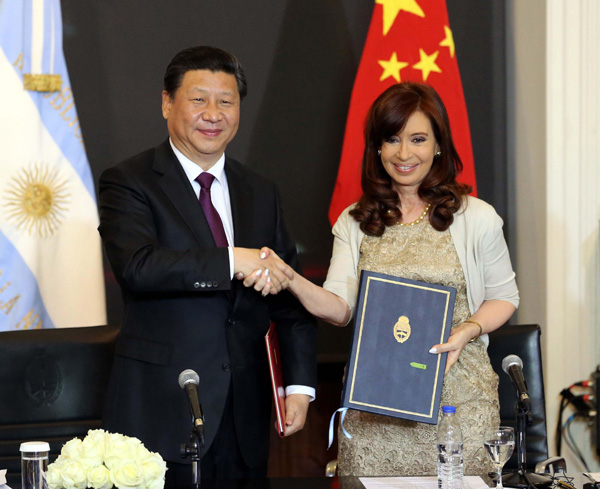 China, Argentina seek closer cooperation