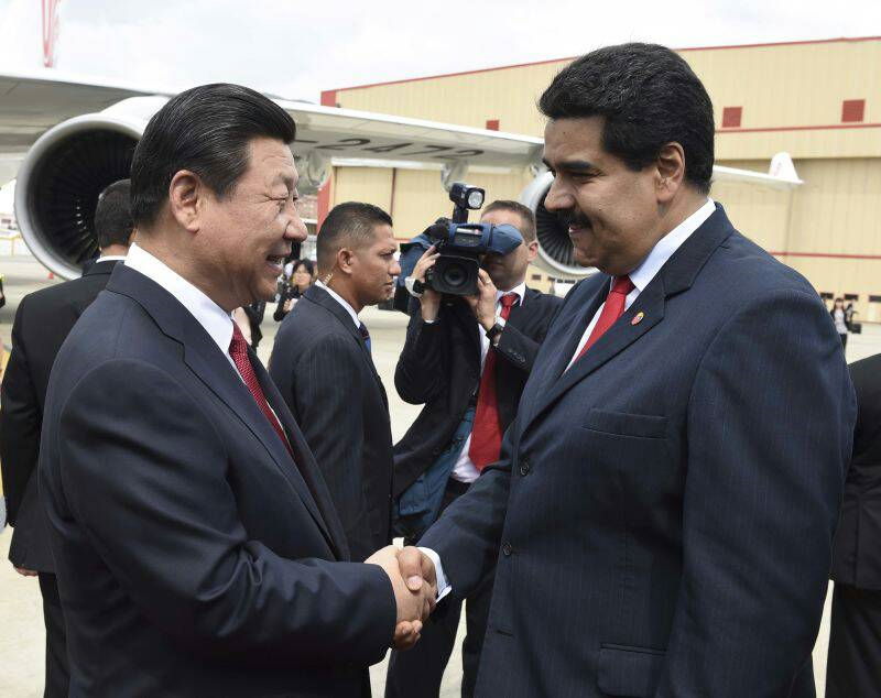 Chinese president arrives in Venezuela for state visit