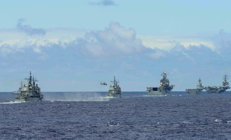 42 naval vessels conduct exercises near Hawaii