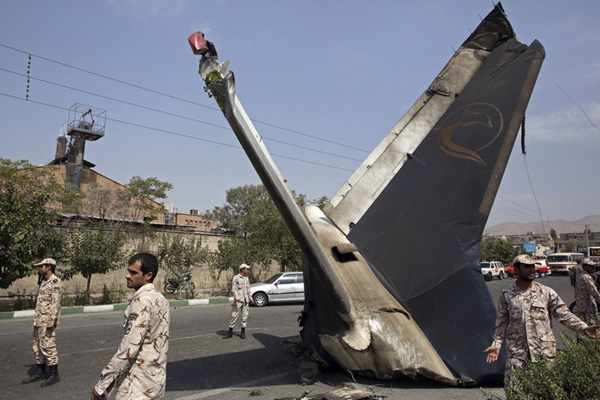 At least 39 killed in passenger jet crash in Tehran