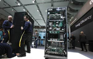 IBM's server business remains on