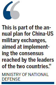 China and US in talks on code of conduct