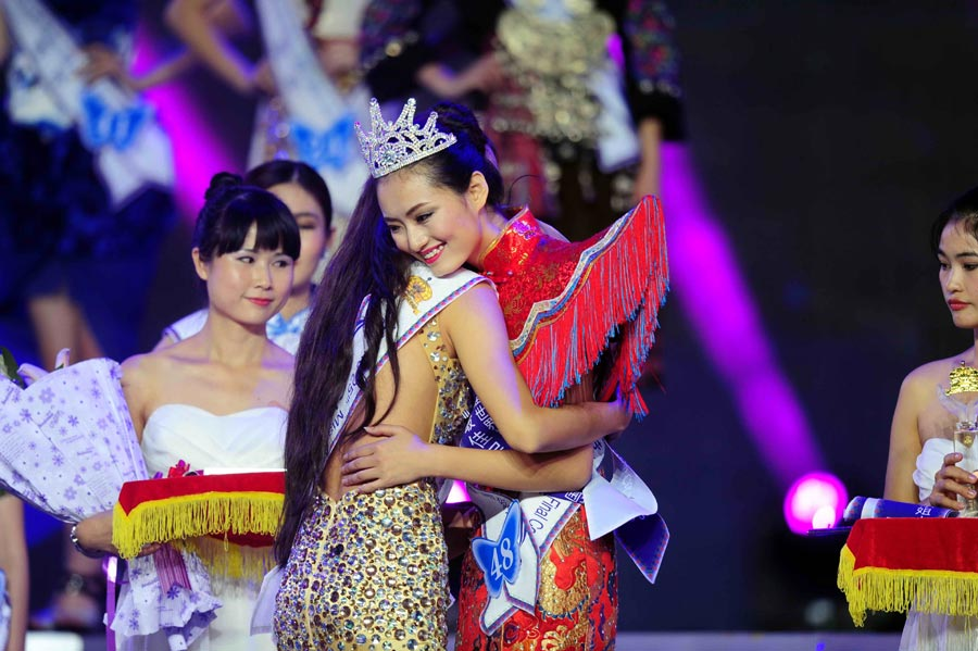 21-year-old student wins Miss Model of the World China Final