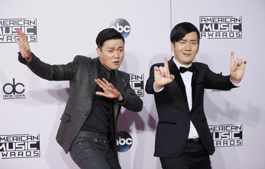 42nd American Music Awards held in Los Angeles