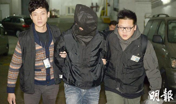 Two arrested in cash spill case in HK
