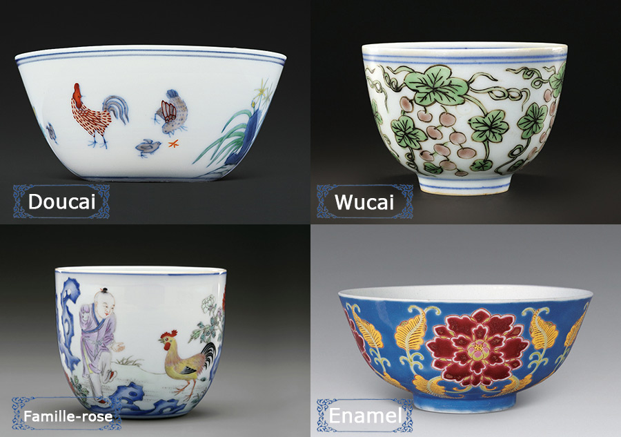 Culture Insider: How to distinguish doucai, wucai, famille-rose and enamel porcelain